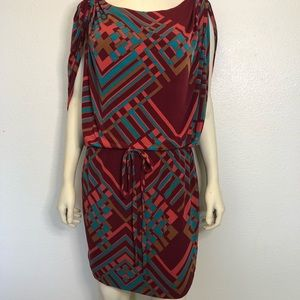 Jessica Simpson Multicolor Dress Size Medium